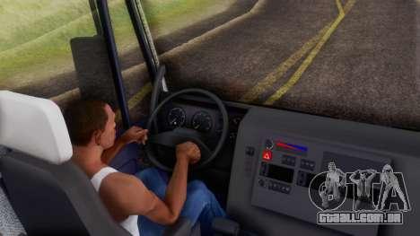 Iveco EuroTech v2.0 Cab Low para GTA San Andreas vista traseira