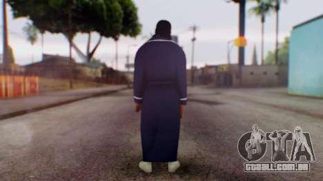 WWE Damien Sandow 1 para GTA San Andreas terceira tela