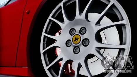 Ferrari 360 Challenge Stradale para GTA San Andreas traseira esquerda vista