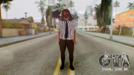 WWE Mankind para GTA San Andreas segunda tela