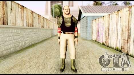 WWE Sgt Slaughter 2 para GTA San Andreas segunda tela