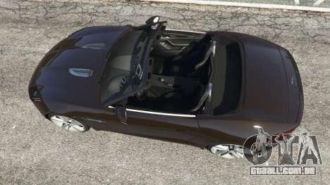 GTA 5 Jaguar F-Type 2014 voltar vista