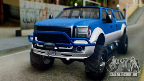 GTA 5 Vapid Sandking XL IVF para GTA San Andreas