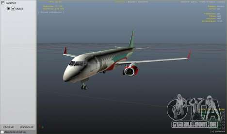 GTA 5 Embraer 195 Wind nono screenshot