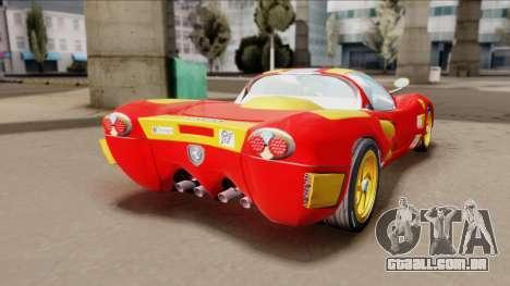 Ferrari P7-2 Iron Man para GTA San Andreas esquerda vista
