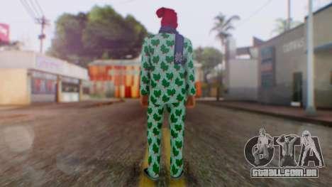 GTA Online Festive Surprise Skin 4 para GTA San Andreas terceira tela