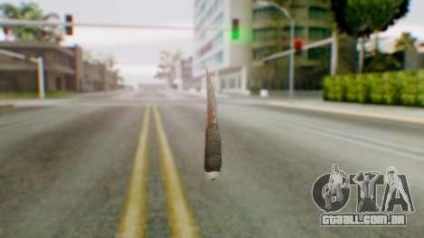 Shank para GTA San Andreas segunda tela