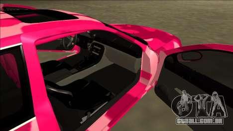 Lexus SC 300 Drift para GTA San Andreas vista traseira