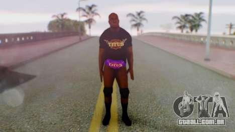 Titus ONeil 2 para GTA San Andreas segunda tela