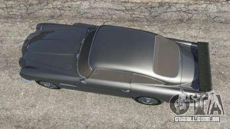 GTA 5 Aston Martin DB5 Vantage 1965 voltar vista
