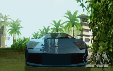 Lamborghini Murcielago 2005 para GTA San Andreas vista direita