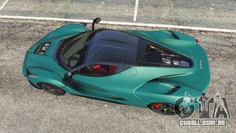 GTA 5 Ferrari LaFerrari 2015 v1.2 voltar vista