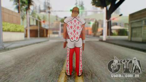 WWE HBK 2 para GTA San Andreas terceira tela