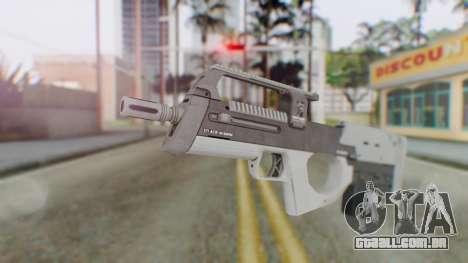 GTA 5 Assault SMG - Misterix 4 Weapons para GTA San Andreas