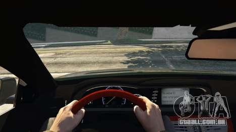 GTA 5 2010 CL65 Mercedes-Benz AMG traseira direita vista lateral