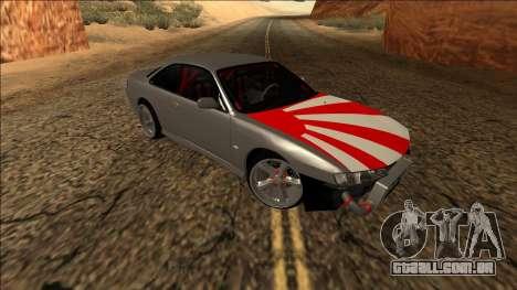 Nissan Silvia S14 Drift JDM para GTA San Andreas vista interior