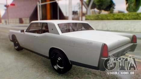 GTA 5 Vapid Chino Tunable para GTA San Andreas
