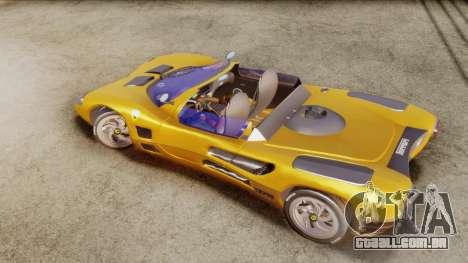 Ferrari P7 Cabrio para GTA San Andreas traseira esquerda vista