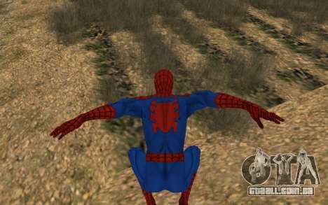 Amazing Spider-Man Versão Cômica por Robinosuke para GTA San Andreas quinto tela