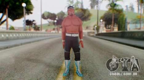 Holy Hulk Hogan para GTA San Andreas segunda tela