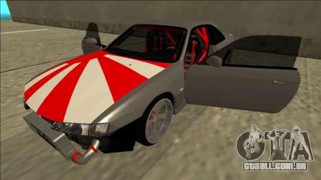 Nissan Silvia S14 Drift JDM para GTA San Andreas vista inferior