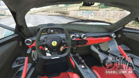 GTA 5 Ferrari LaFerrari 2015 v1.2 traseira direita vista lateral