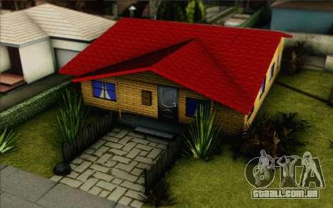 Denise casa nova para GTA San Andreas terceira tela