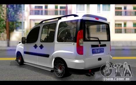 Fiat Doblo para GTA San Andreas esquerda vista