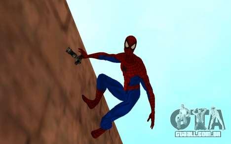 Amazing Spider-Man Versão Cômica por Robinosuke para GTA San Andreas segunda tela