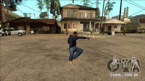 Animação adicionais TEC-9 para GTA San Andreas