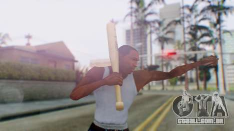 Vice City Baseball Bat para GTA San Andreas terceira tela