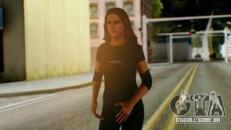 Stephani WWE para GTA San Andreas