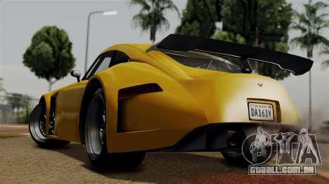 GTA 5 Bravado Verlierer para GTA San Andreas esquerda vista