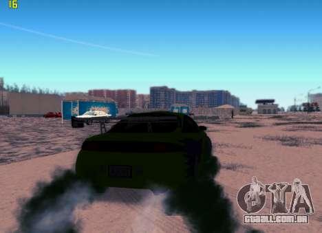 Fast ENB V.31 para GTA San Andreas segunda tela