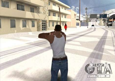 Tiro com arco para GTA San Andreas terceira tela