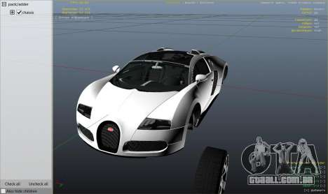 Bugatti Veyron v6.0 para GTA 5