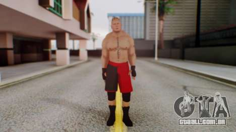 Brock Lesnar para GTA San Andreas segunda tela