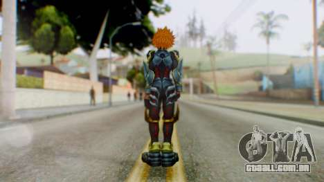 KHBBS - Ventus Armor (Helmetless) para GTA San Andreas terceira tela