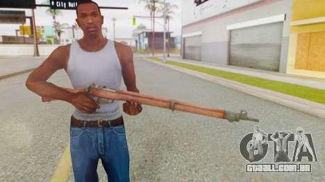 Arma OA Lee Enfield para GTA San Andreas terceira tela