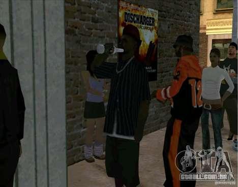 Tudo sobre o cinema para GTA San Andreas segunda tela
