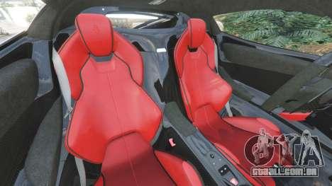 GTA 5 Ferrari LaFerrari 2015 v1.2 vista lateral direita