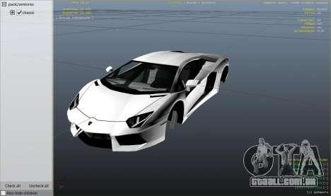 Roda GTA 5 Lamborghini Aventador LP700-4 v.2.2