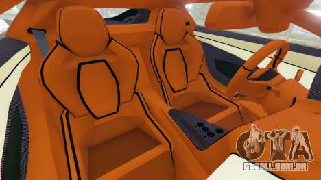 GTA 5 Jaguar C-X75 vista lateral direita