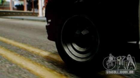 GTA 5 Police SF para GTA San Andreas traseira esquerda vista