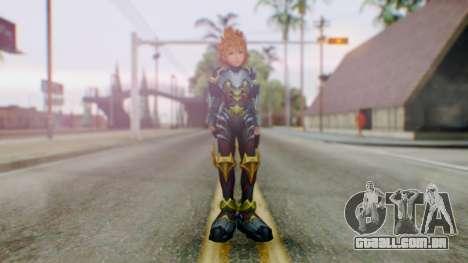 KHBBS - Ventus Armor (Helmetless) para GTA San Andreas segunda tela
