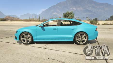 GTA 5 Audi RS7 vista lateral esquerda