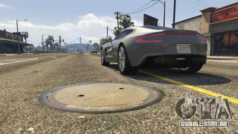 GTA 5 2012 Aston Martin One-77 v1.0 voltar vista