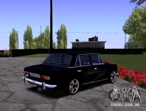 VAZ 2101 KBR para GTA San Andreas vista interior