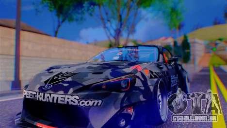 Aero Project Art 0.248 para GTA San Andreas segunda tela