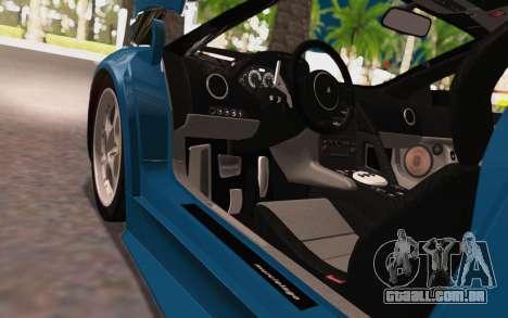 Lamborghini Murcielago 2005 para GTA San Andreas vista interior
